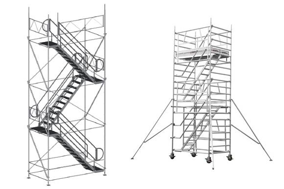 Tour d'accès en hauteur
