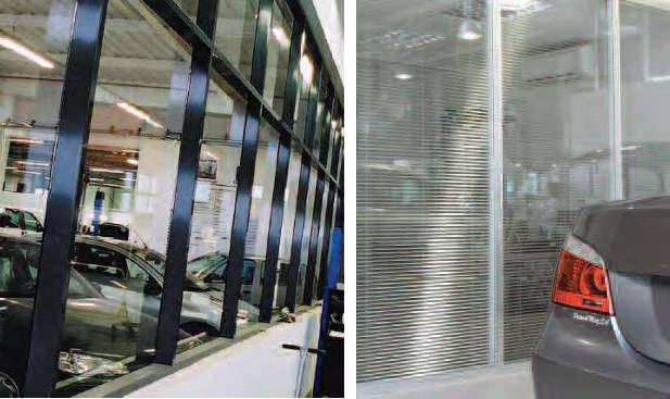 Cloison amovible de bureau coulissante ou vitr e en for Garage automobile paris 12