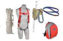 Kit de protection anti-chute (harnais, sangle et longue drisse)