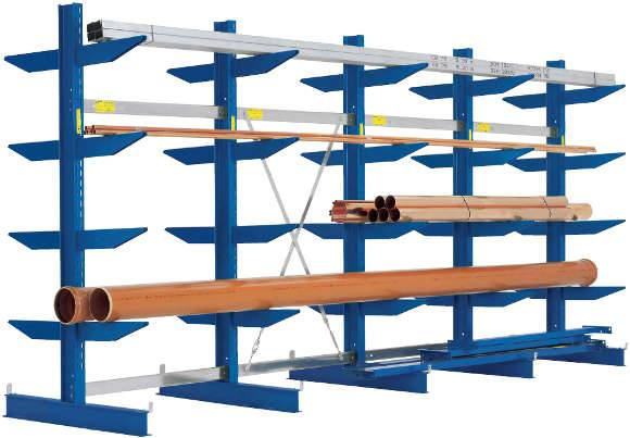 Rayonnage et stockage Cantilever