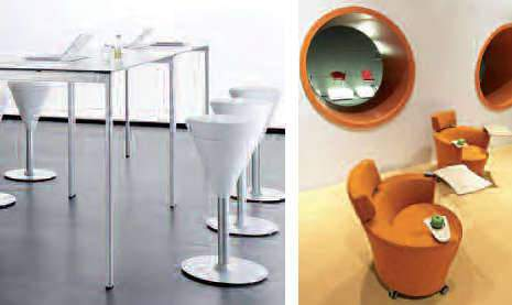 Aménagement d'espace de détente (cafétéria d'entreprise, espace cuisine, espace café...)