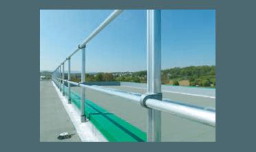 Garde corps de toiture en aluminium, fabrication sur mesure en Alsace