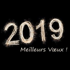 Echamat kernst vous souhaite une bonne annee 2019