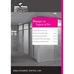 Catalogue détaillé avec nos solutions de cloisonnement